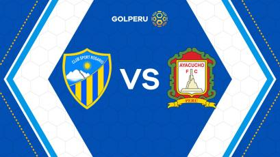 Previa: Sport Rosario y Ayacucho FC miden fuerzas en Huaraz
