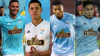 Sporting Cristal anunció la renovación de Emanuel Herrera, Renato Solís, Johan Madrid y Jesús Pretell