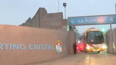 Alianza Lima vs Sporting Cristal: así fue la partida celeste desde La Florida a Matute (VIDEO)