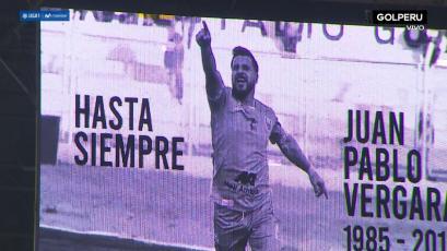 Sporting Cristal vs. Alianza Lima: el conmovedor minuto de aplausos por Juan Pablo Vergara (VIDEO)