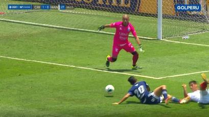 Sporting Cristal vs. Mannucci: la decisión del árbitro que generó el reclamo de los celestes (VIDEO)