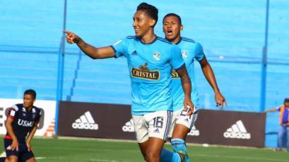 Sporting Cristal golea a la San Martín y sigue cerca de Binacional (4-0)