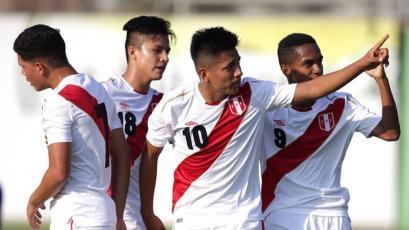 La Sub-17 goleó por 5-1 a Costa Rica en amistoso