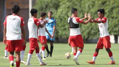 Selección Peruana Sub-17 derrotó a la reserva de Academia Cantolao