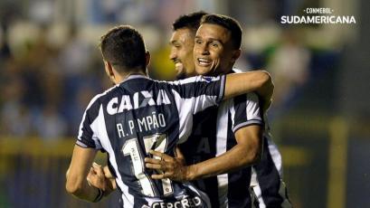 Copa Sudamericana: Diego Haro arbitró en la derrota de Defensa y Justicia frente a Botafogo