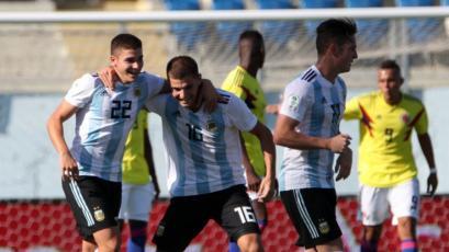 Sudamericano Sub-20: Argentina venció a Colombia y sumó su primer triunfo en el Hexagonal