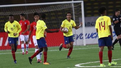 Sudamericano Sub-17: Ecuador remonta frente a Chile y clasifica al Hexagonal final