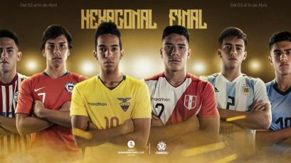 Sudamericano Sub-17: Así se jugará el Hexagonal final rumbo a Brasil 2019