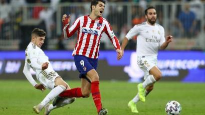 Supercopa de España: la falta de Federico Valverde que está dando la vuelta al mundo (VIDEO)