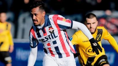 Renato Tapia no pudo evitar la derrota del Willem II