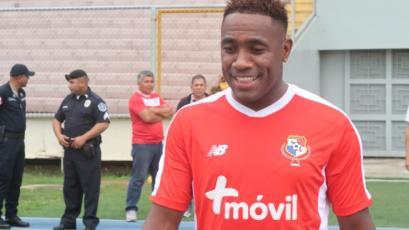 Luis Tejada se despidió de la Selección de Panamá