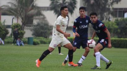 San Martín venció 2-0 a Universitario de Deportes en Campo Mar por el Torneo de Reservas