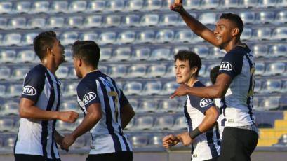 Alianza Lima vence a Sport Rosario y gana su tercer partido en Matute