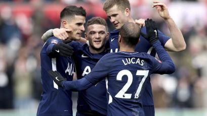 Tottenham eliminó al Swansea de la FA Cup