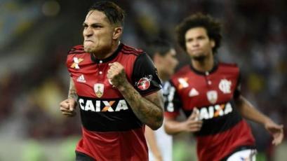 Flamengo presentó los dorsales de Trauco y Guerrero para el 2018