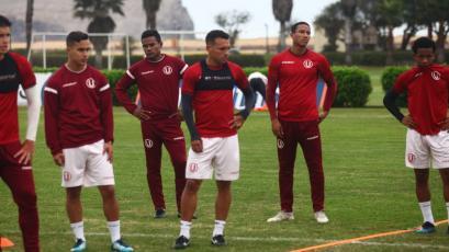 Universitario sigue preparándose para el duelo ante Sport Huancayo