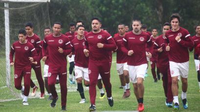 Universitario de Deportes se prepara para jugar dos amistosos esta semana