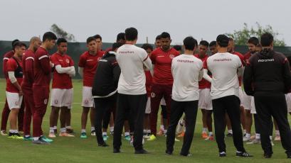 Universitario quedó listo para enfrentar este sábado a Sport Boys