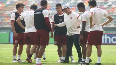 Universitario de Deportes ultima detalles para el choque ante Melgar