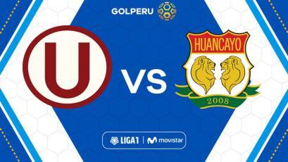 Universitario recibe a Sport Huancayo, partido pendiente por la fecha 8