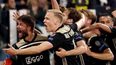 Champions League: Ajax da el golpe y eliminan a la Juventus de Cristiano Ronaldo