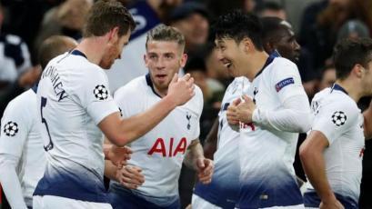 Champions League: Tottenham golea al Dortmund y está cerca de clasificar