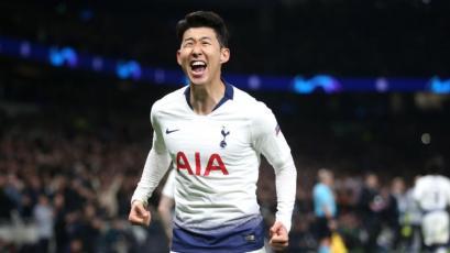 Champions League: Son le da la victoria al Tottenham frente al Manchester City