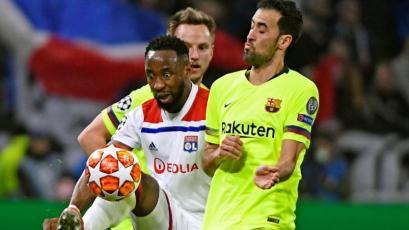 Champions League: Lyon y Barcelona no se hicieron daño en la ida de octavos de final (VIDEO)