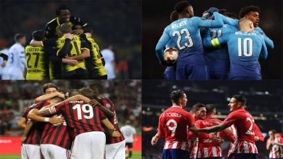 Europa League: estas son las llaves de octavos de final