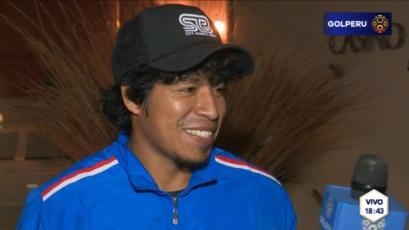 """Willyan Mimbela: """"Tengo una revancha de volver a jugar en el extranjero"""""""