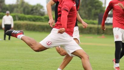 Univeristario de Deportes retomó los entrenamientos de cara al encuentro ante Real Garcilaso