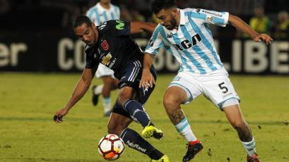 Universidad de Chile y Racing se repartieron los puntos (1-1)