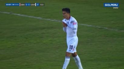 Sport Boys vs. San Martín: la jugada de lujo de Jairo Concha que no acabó en golazo de milagro (VIDEO)