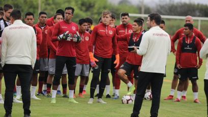 Universitario de Deportes quedó listo para el partido ante la Universidad César Vallejo