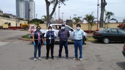 Universitario: estadio Lolo Fernández fue visitado por autoridades y se sumará a la lucha con el coronavirus