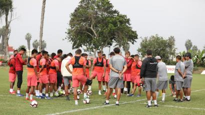 Universitario retomó los entrenamientos de cara a la fecha 11 de la Liga1 Movistar