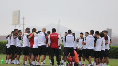 Universitario quedó listo para el partido ante Melgar