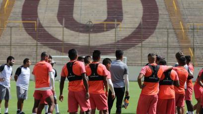 Universitario quedó listo para enfrentar a Melgar