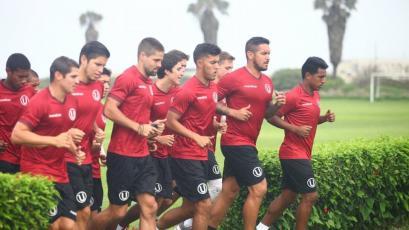 Universitario de Deportes regresó a los entrenamientos de cara al inicio del Torneo de Verano