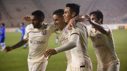 Universitario ganó 2-0 a Mannucci y avanzó a octavos de final de la Copa Bicentenario