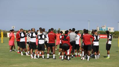 Universitario de Deportes realizó su tercer entrenamiento con miras a la fecha 7