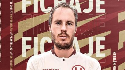 Universitario: Hernán Novick es nuevo jugador y firmó por una temporada