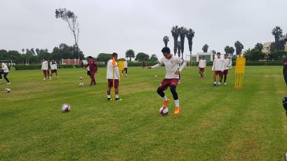 Universitario de Deportes sigue preparándose de cara a la reanudación del Torneo Apertura