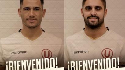 Universitario de Deportes oficializó contrataciones de Jonathan Dos Santos y Luis Urruti