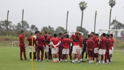 Universitario de Deportes sigue su preparación de cara al partido ante Unión Comercio