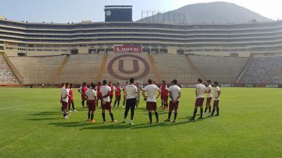 Universitario de Deportes  sigue con sus entrenamientos de cara al partido ante Ayacucho F.C