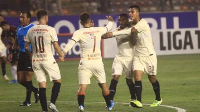 Universitario venció 3-2 a Ayacucho FC y recuperó la punta del Torneo Clausura