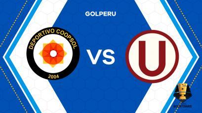 Universitario de Deportes visita a Deportivo Coopsol en Huancho por la fecha 2 de la Copa Bicentenario