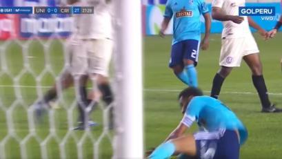 Universitario de Deportes vs. Sporting Cristal: ¿hubo penal contra Carlos Lobatón? (VIDEO)