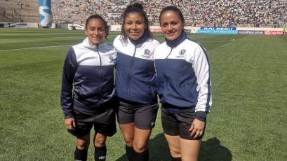 Universitario vs Alianza Lima: arbitraje femenino hizo historia en el clásico de Reservas (VIDEO)